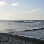 Priel im Wattenmeer